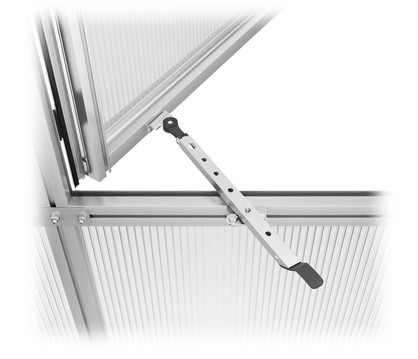 Handaufsteller für Rückwandfenster & vordere Aufstellfenster