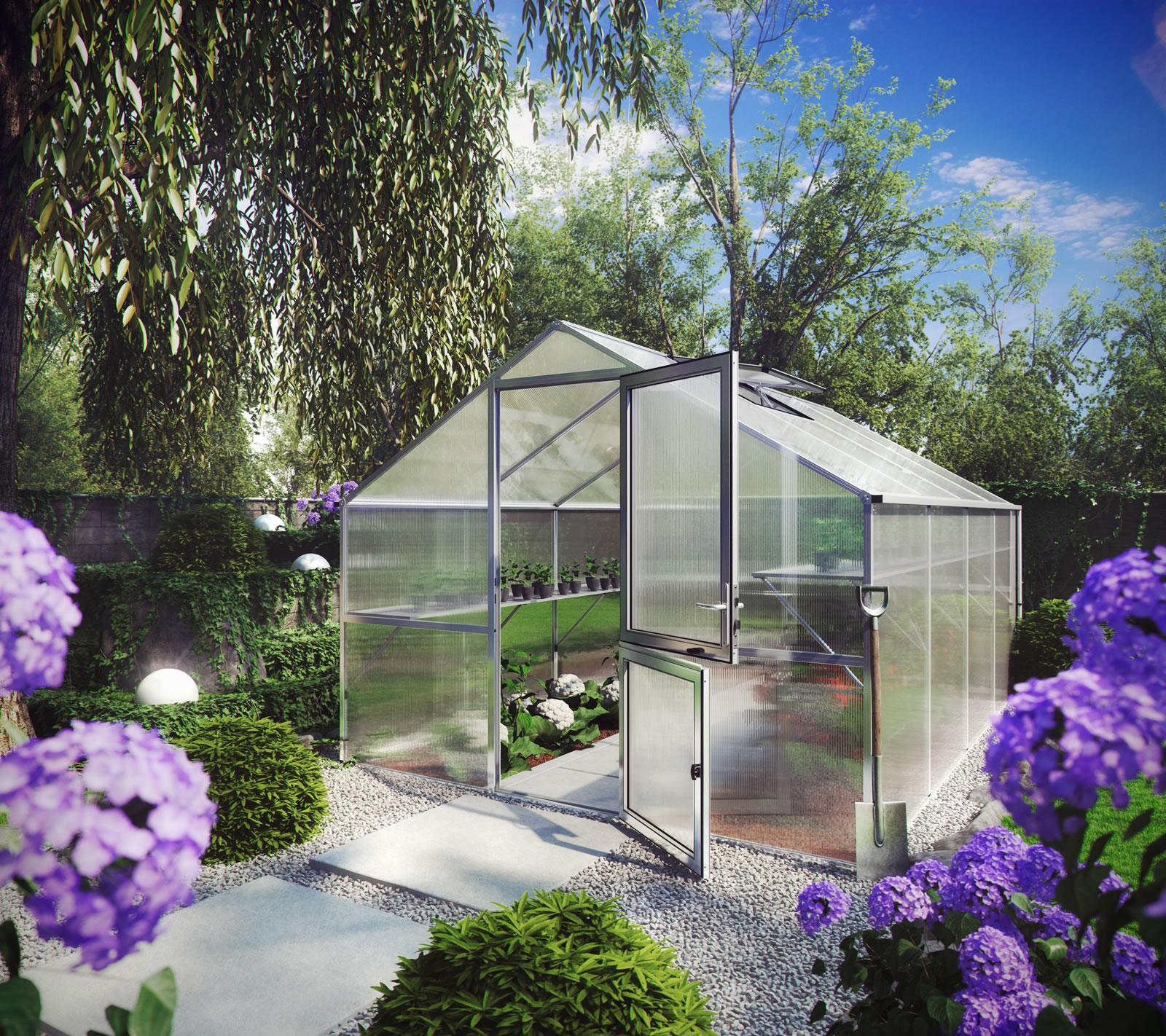 Gewächshaus Orchidee IV - pressblank