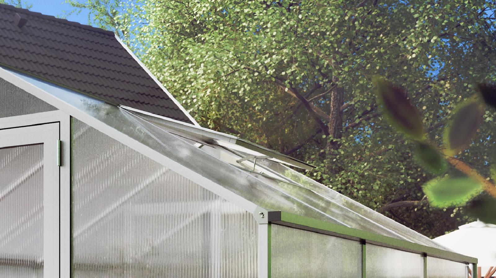 Zusätzliches Dachfenster für Rose / Orchidee / Lilie - pressblank
