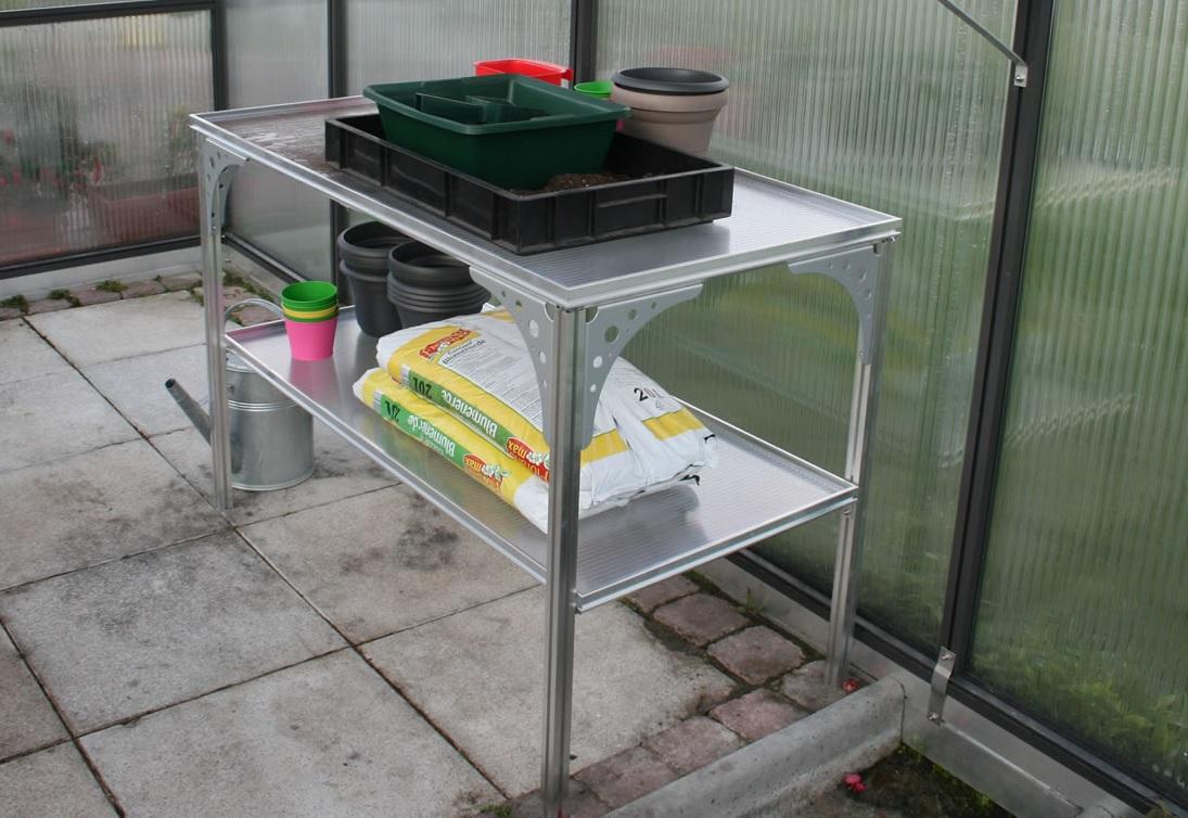 Universal-Aluminium-Tisch