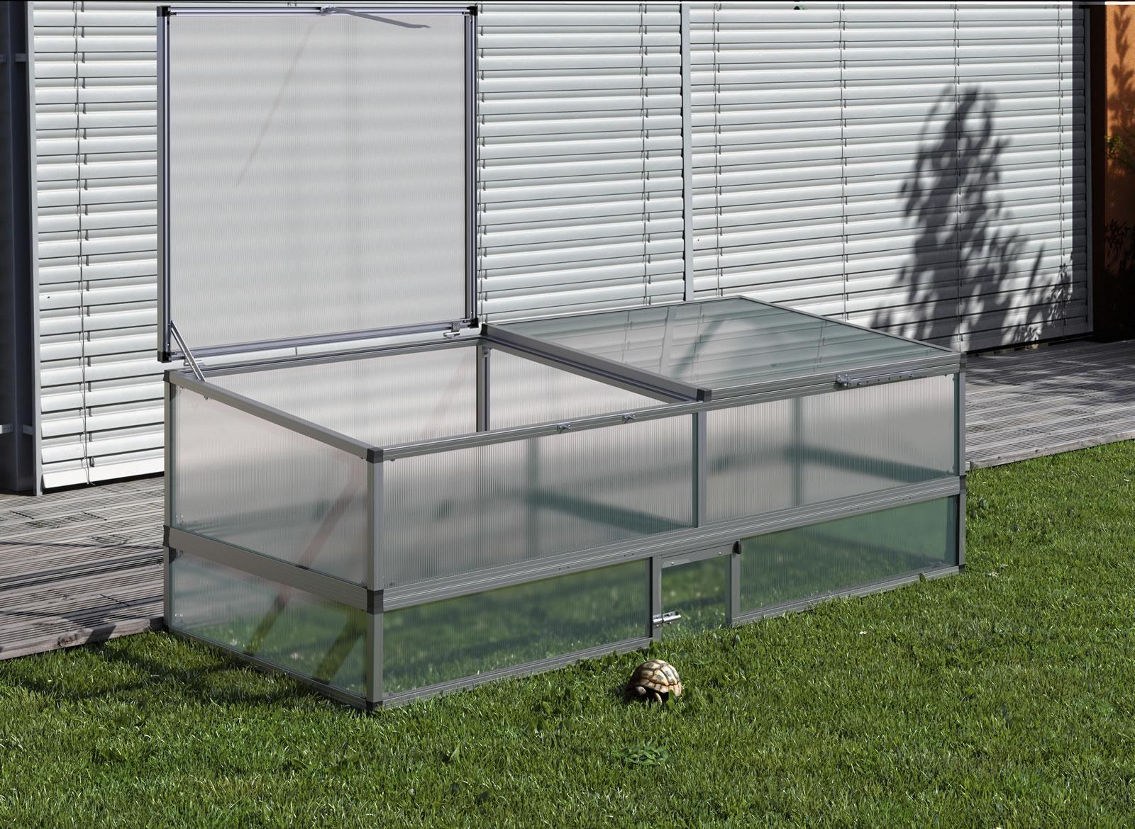 Schildkrötenunterbau für Frühbeet 210