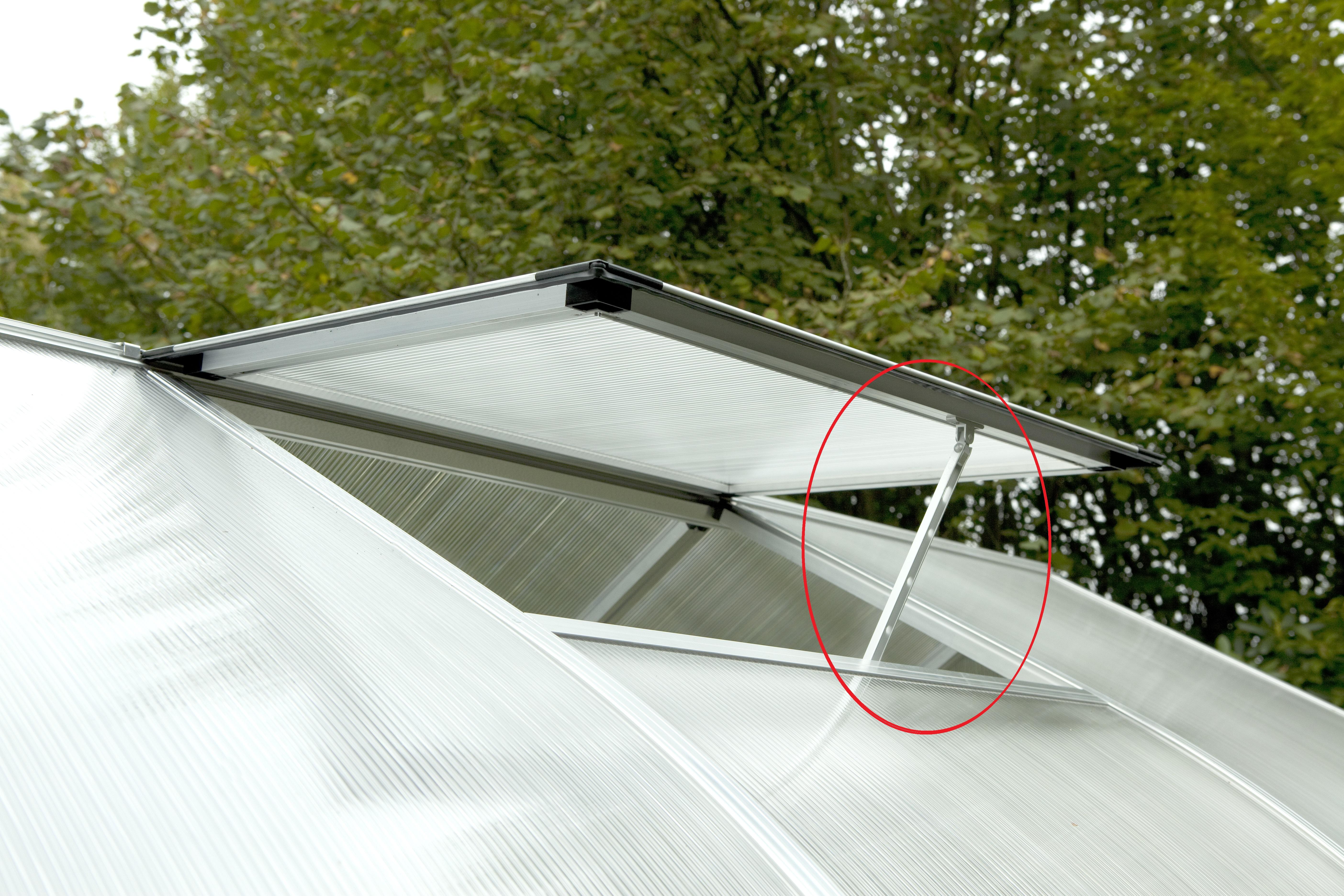 Handaufsteller Dachfenster Rhodo