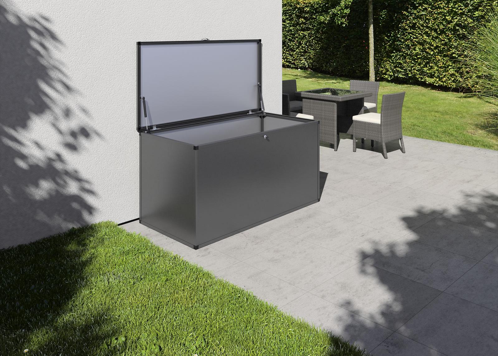 Gartenbox L - anthrazit-grau
