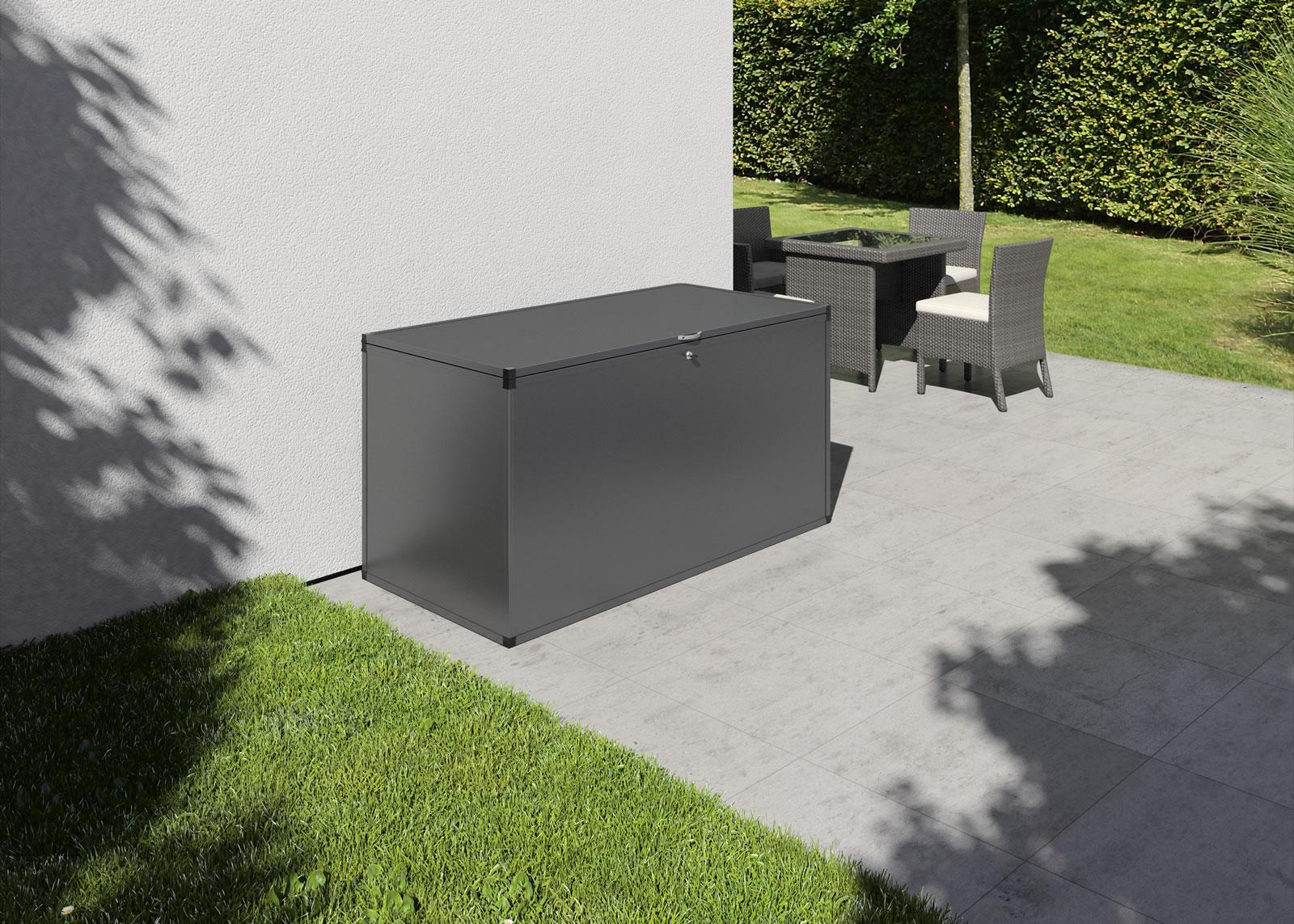 Gartenbox M - anthrazit-grau