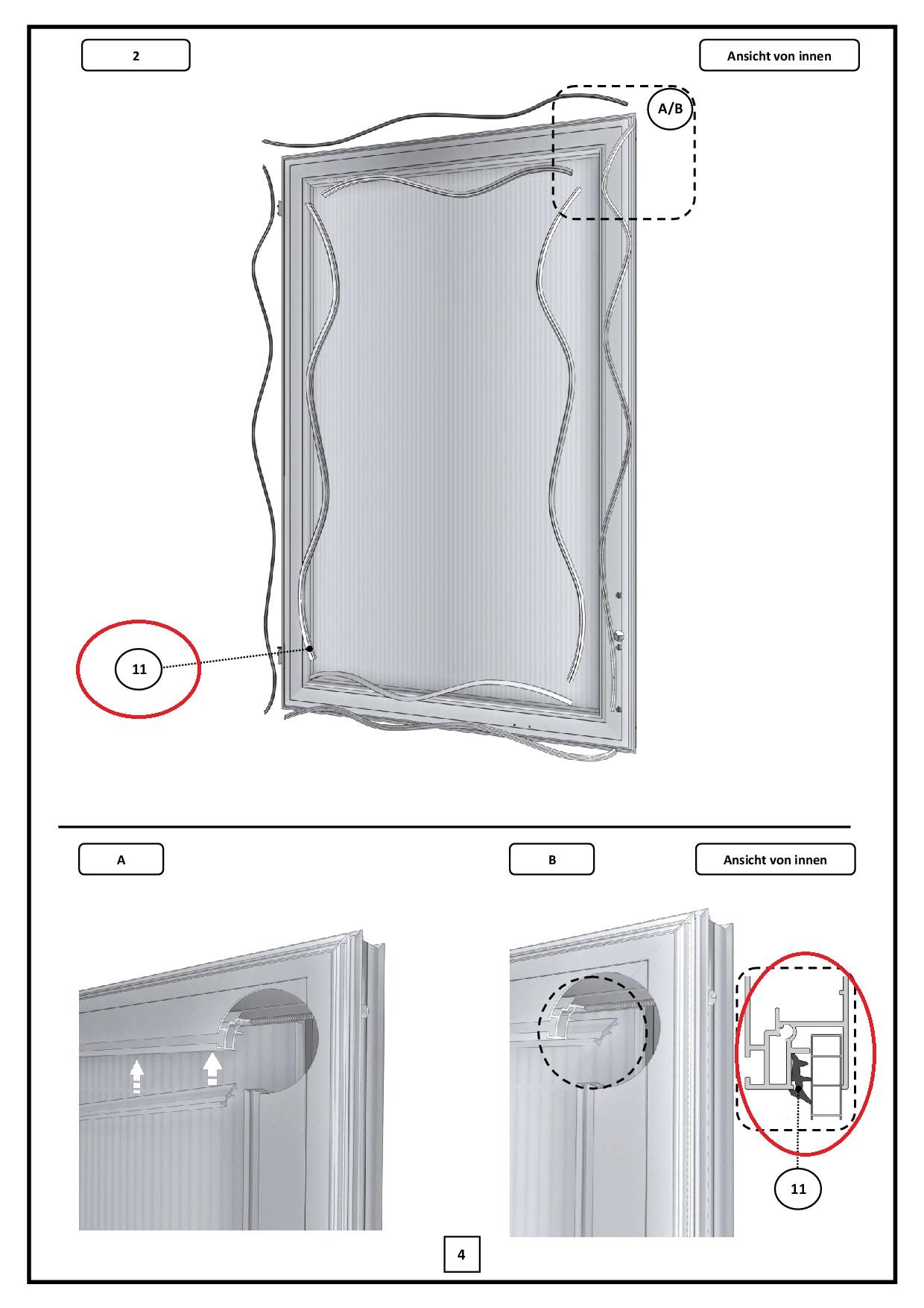Keildichtung 6 - 8 mm
