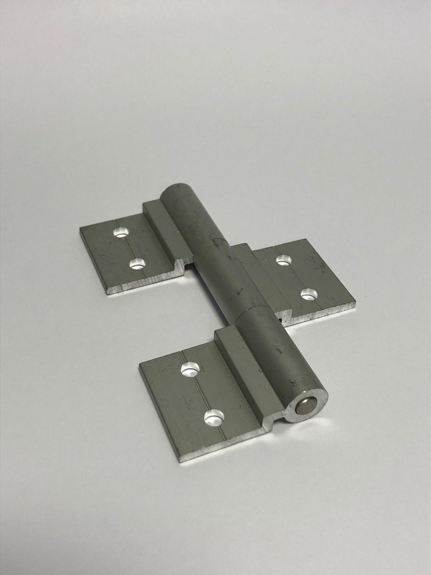KGT-Aluminium-Scharnier (Set)