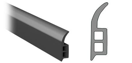 Dachfensterdichtung (für den Rahmen des Gewächshauses)
